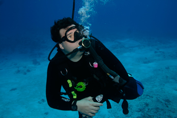 Don Heer enjoys scuba diving all over the Caribbean, Mexico and off the U.S. Coast. He is also a scuba instructor.