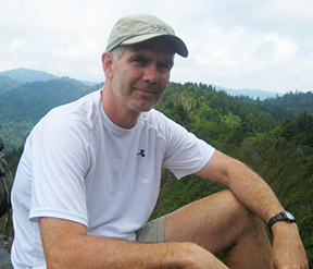 Roger Traylor hiking