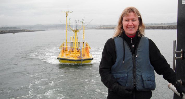 Annette von Jouanne and the Ocean Sentinel