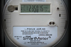 Photo of a utility meter