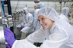 Photo of cleanroom.
