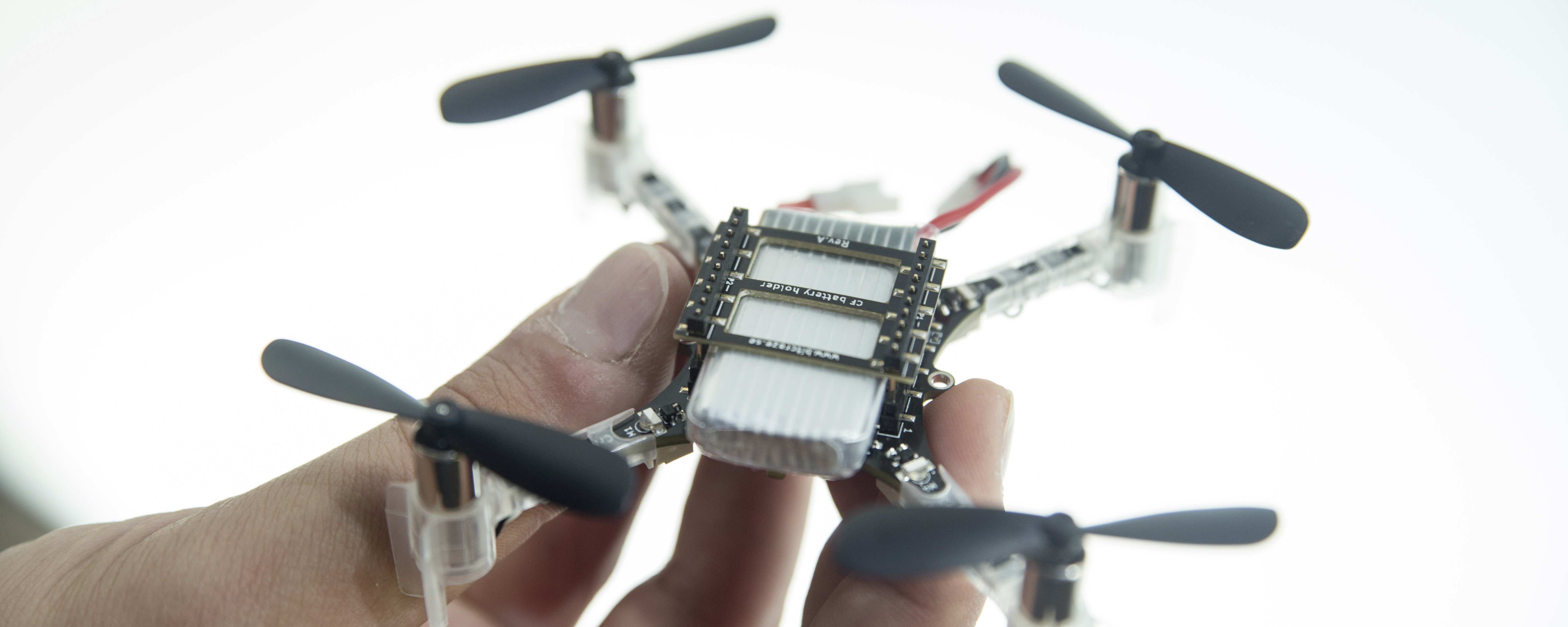 Photo of a small drone