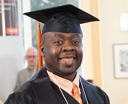 Photo of Ecampus program graduate