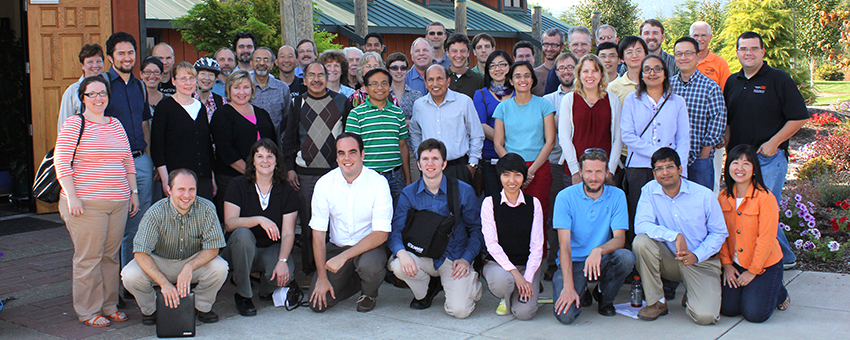 Group photo of EECS faculty and staff
