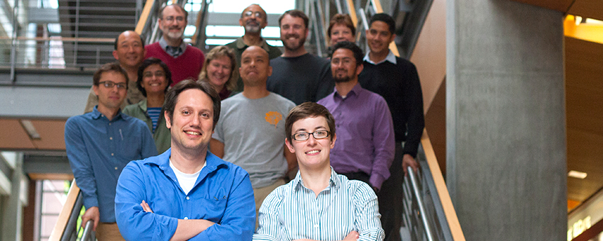 A group of EECS faculty