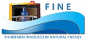 FINE (Fishermen Involved in Natural Energy) logo