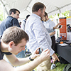 Photo of Garmin employees at Engineering Expo
