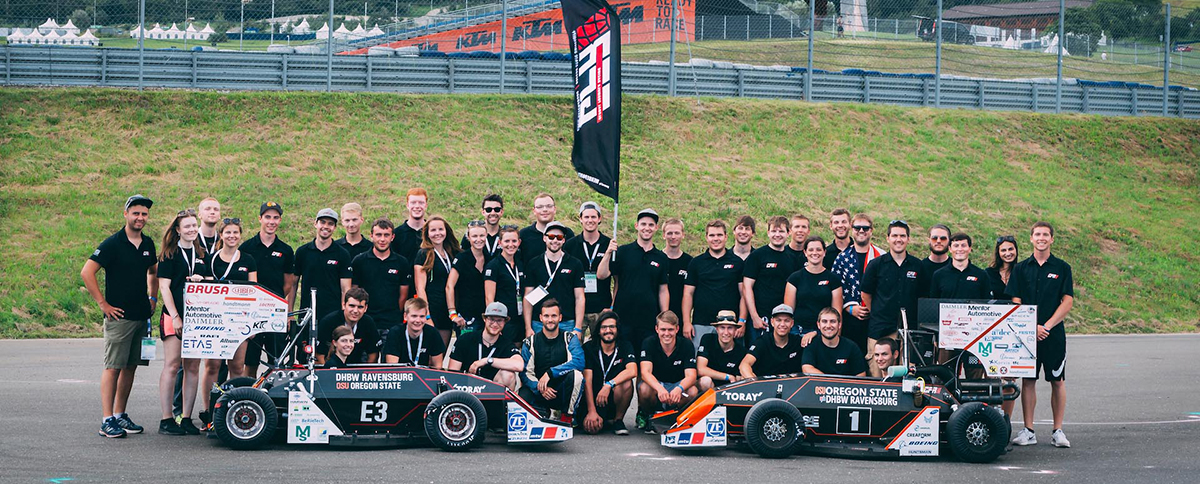 Global Formula Racing team photo