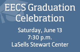 Register for the EECS graduation celebration.