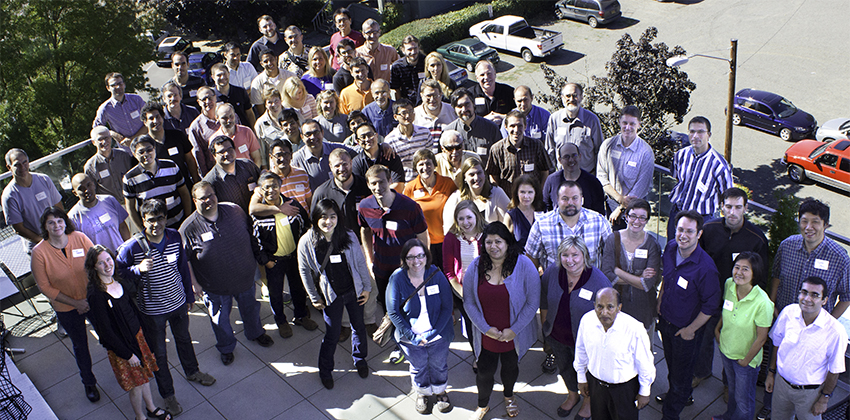 Photo of the EECS faculty and staff