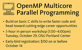 OpenMP Multicore Parallel Programming course
