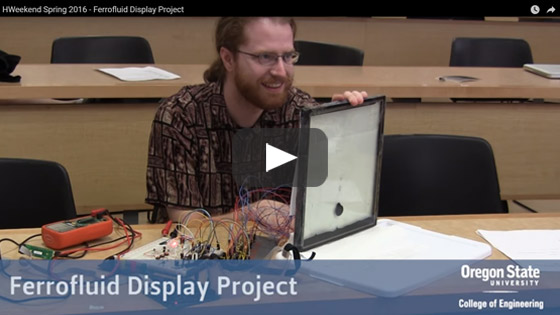 Ferrofluid Display Project (Spring 2016)