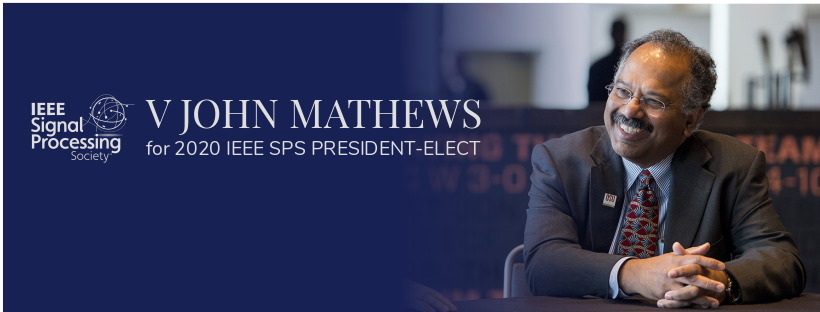 Graphic: V John Mathews for 2020 IEEE SEPS President-Elect