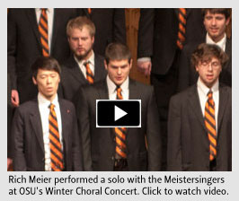 Video: Meistersingers at OSU's Winter Choral Concert