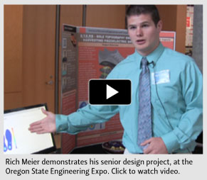 Video: Rich Meier's senior design project