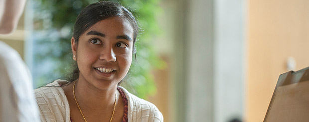 Photo of a female student