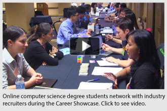 Career Showcase for OSU's Professional CS Online Degree Program