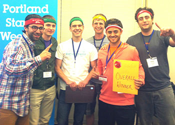 LivFly team wins at Portland Startup Weekend