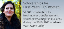 Scholarships for First-Year EECS Women