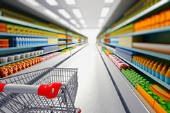 Image of a supermarket aisle