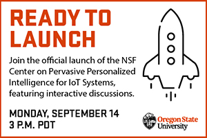 Official launch for Center on Pervasive Personalized Intelligence