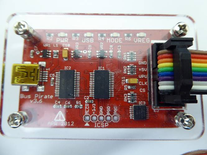 Bus Pirate v3 6 Universal Serial Interface | Electrical